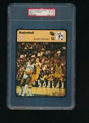 1977-79 Sportscaster Magic Earvin Johnson 78-02 Psa 6 Rookie Rc Italy Swsw