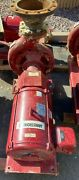 Armstrong Pump W/50 Hp Motor Mounted On Base 208 To 460v, 1708 Gpm At 90 Feet.