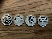 Roll Of 2020 S Silver Proof Quarters Ultra Cameo's Mint Fresh 40 Coins .999 Slv