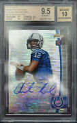 Bgs 9.5 - 2012 Finest Andrew Luck 110 Rc Rookie 10/10 Pulsar Refractor Auto 10