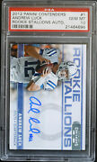 Psa 10 - 2012 Contenders Andrew Luck Rc 06/10 Rookie Stallions Autograph Auto