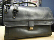 Vintage Hartmann American Made Professional Lawyer Leather Briefcase Bag