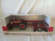 Ertl 1/16 Scale Farmall 560 Wide Front End With Disk Farm Toy Tractor