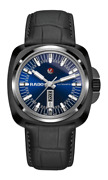 New Rado Hyperchrome 1616 Blue Dial Leather Band Menand039s Watch R32171205
