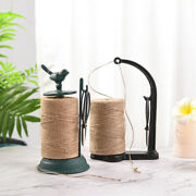 Sungmor Garden Twine Holder Set.natural Jute Twine String And Rope Rack And Scissors