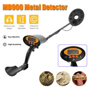 Portable Md900 Underground Metal Detector Jewelry Treasure Gold Coin Finder