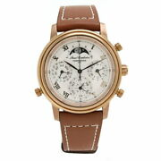 Tenshodo 6771-t012779ta Grand Complication Classic Silver Dial Ss Leather Watch