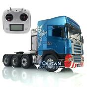 Lesu Metal Scania Rc Tractor Truck Hercules Cabin Radio Sound 1/14 88 Chassis