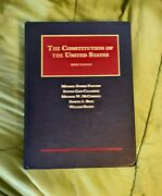 The Constitution Of The United States By Paulsen, Calabresi, 3rd Edition