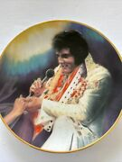 """Elvis Remembered Series 2 """"loving You """"plate By Artist Susie Morton 1987"""