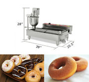 110v Commercial Automatic Doughnut Forming Machine Stainless Steel 3000w