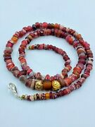 Trade Ancient Egyptian Roman Glass Jewelry Old Beads Necklace Sting Necklace
