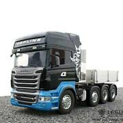 Lesu 88 Metal Chassis Bucket Hercules Cabin Front Face Scaniar730 1/14 Rc Truck