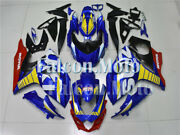 Blue Yellow White Red Injection Fairing Kit Bodywork Fit For 09-2016 Gsxr1000 K9