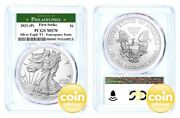 2021 P 1 Silver Eagle Emergency Issue Pcgs Ms70 First Strike