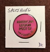 American Legion Post 57 Saltsburg, Pa Good For One 1 Wine In Trade, Lot E269