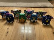 Furby Mcdonalds 1998 Kids Meal Toys Collectors Assortment Of 8 Happy Meal Toys