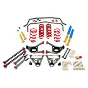 For Chevy Malibu 65-66 Bmr Suspension Handling Performance Package Level 2