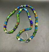 Lot Of Old Ancient Antique Vintage Jewelry Trade Traditional Chines Glass Beads
