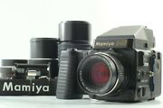 4lens [exc+++++] Mamiya 645 Super W/ 80mm + 55mm + 150mm +210mm From Japan 2275