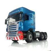 Lesu 66 Scania Metal Chassis Axles Gearbox Hercules Cabin 1/14 Rc Tractor Truck