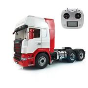 Lesu Metal Chassis Radio Painted Hercules Scania Cabin Rc 1/14 66 Tractor Truck