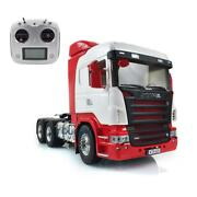 Lesu Rc Metal Chassis Servo Hercules Scania Painted Cabin 1/14 66 Tractor Truck