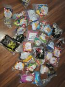 Huge 80s 90s Epcot Disney Mcdonalds Happy Meal Toy Lot-mickey Mouse+barbiebag63