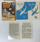 Vintage 1969 Space Race Card Game Spacex Nasa Cold War Human Space Flight
