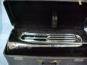 Vintage Ludwig Classic Drum And Bugle Corps French Horn Bugle, Excellent