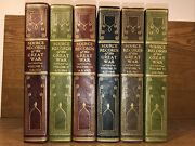 Leather Set Source Records Of The Great War Wwi World One Binding Vol 1 Detach