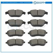 Front And Rear Brake Ceramic Pads For Mercedes-benz C250 2012 - 2015 Anti Noise