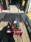 2 Snow Blowers Snow Throwers Mtd And Snapper