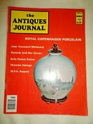 Antiques Journal 1976 Wpa Puppets Us Civil War Covers Jean Townsend Miniatures
