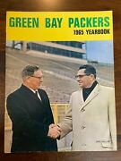 1965 Green Bay Packers Yearbook Curley Lambeau And Vince Lombardi