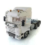 Lesu Hercules Scania Hook Roof Light Horn 1/14 66 Metal Chassis Tractor Truck
