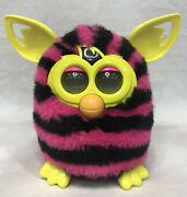 Furby Boom Pink And Black Stripes Tested And Works