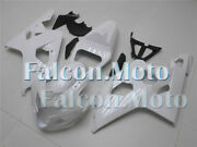 Pearl White Fairing Set Fit For 04-05 Gsxr 600 750 K4 Injection Mold Abs Plastic