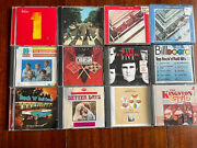 Lot Of 12 Oldies Cds And Box Sets 18 Disks Beatles Beach Boys Hits Kingston Trio