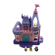 Fisher Price Little People Disney Princess Palace Songs Dance Castle Bed Figures