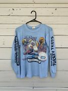 Vintage 80s 1982 13th Annual Turkey Trot Mickey Mouse Disney Dixie Rebel Size S