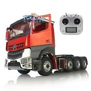 Lesu Metal Chassis Sound Hercules Painted 3363 Cabin Rc 1/14 Tractor Truck Radio