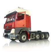 Lesu Metal Chassis 3speed Hercules Painted Actros Benz Cab 1/14 Rc Tractor Truck