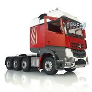 Lesu Metal Chassis Rack Hercules Actros Painted Benz Cabin 1/14 Rc Tractor Truck
