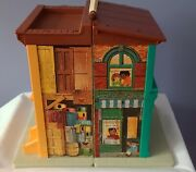 Vintage Fisher Price Little People Family Sesame Street 938 House