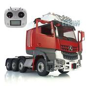 Lesu Metal Chassis Rack Hercules Cabin Actros Rc 1/14 Tractor Truck Radio Sound