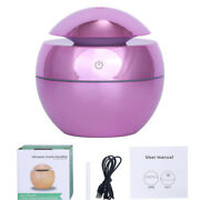 130ml Led Light Ultrasonic Humidifier Aroma Essential Steam Diffuser Air