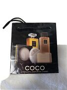 Lot Of 7 Coco Black Gift Bags