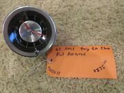 1963 C2 Corvette Clock--orig Gm--professionally Restored-ready For Ncrs Judging