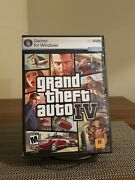 Grand Theft Auto Iv - Gta 4 - Pc Dvd Complete With Map, Poster And Manual